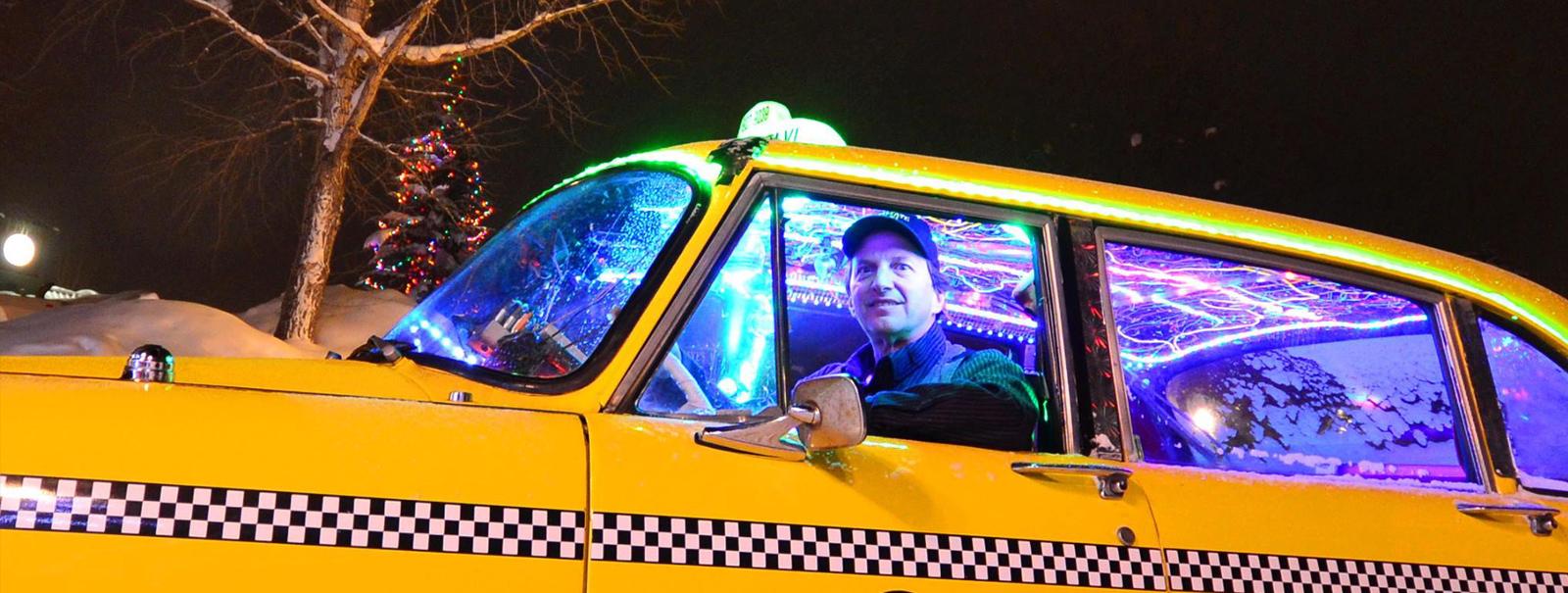 Guarda il taxi più pazzo del mondo - Condé Nast Live!