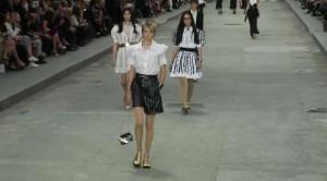 Chanel in passerella - SS 2015 Paris Fashion Week