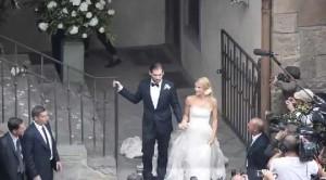 Michelle Hunziker e Tomaso Trussardi: scene da un matrimonio