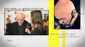 Live! News con Peter Gabriel, Lorde e il Principe Harry