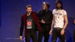 Pink Floyd, Kasabian, Ed Sheeran & Co ai Q Awards!
