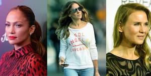 Sarah Jessica Parker, Jennifer Lopez e Renée Zellweger in Live! News