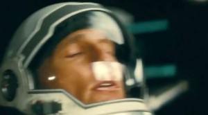 Con Matthew McConaughey alla première di 'Interstellar'