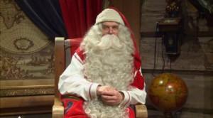 Il messaggio di Babbo Natale in diretta dal Circolo Polare Artico