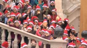 Prince Albert e Santa Claus per i bambini monegaschi