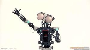 Il Meccano diventa robot