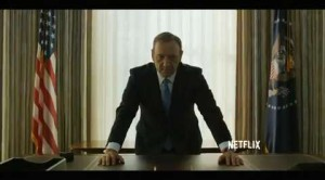Kevin Spacey e Robin Wright presentano 'House of Cards 3′