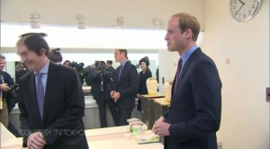 Prince William Asian Tour