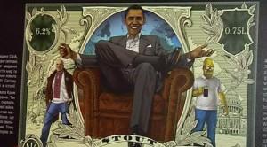 Al 'Teatro della Birra' con Putin, Obama e Angela Merkel