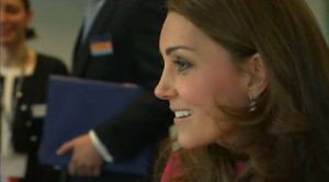 Kate Middleton: pretty (pregnant) in pink