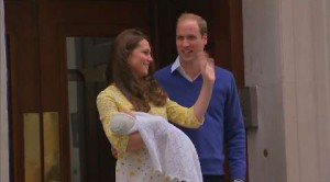 Kate e William presentano alla stampa la principessina Charlotte