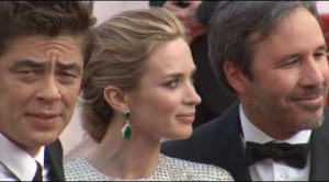 "A Cannes sul red carpet del ""Sicario"""