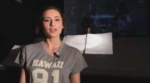 Greta Menchi da YouTube al cinema