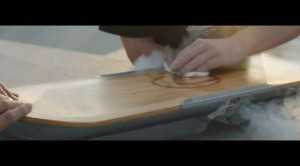 Lo skateboard volante