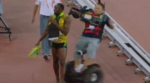 Cameraman Vs Usain Bolt