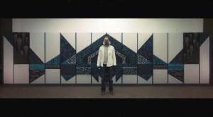 Il videomurale interattivo dell'artista Phillip Frank