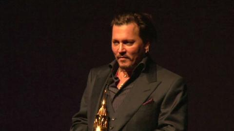 Johnny Depp premiato al Festival di Santa Barbara