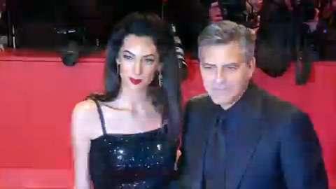 George Clooney al Festival di Berlino con 'Ave, Cesare!' dei fratelli Coen