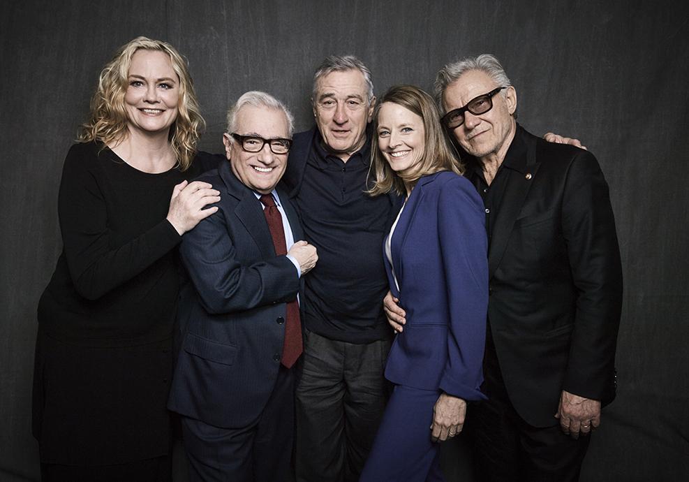 """Taxi Driver"" 40th Anniversary Screening Cast Portrait - 2016 Tribeca Film Festival"