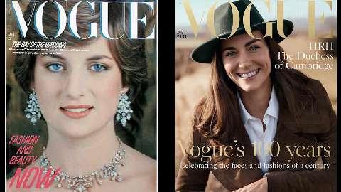 Kate Middleton visita la Mostra fotografica per i 100 anni di Vogue
