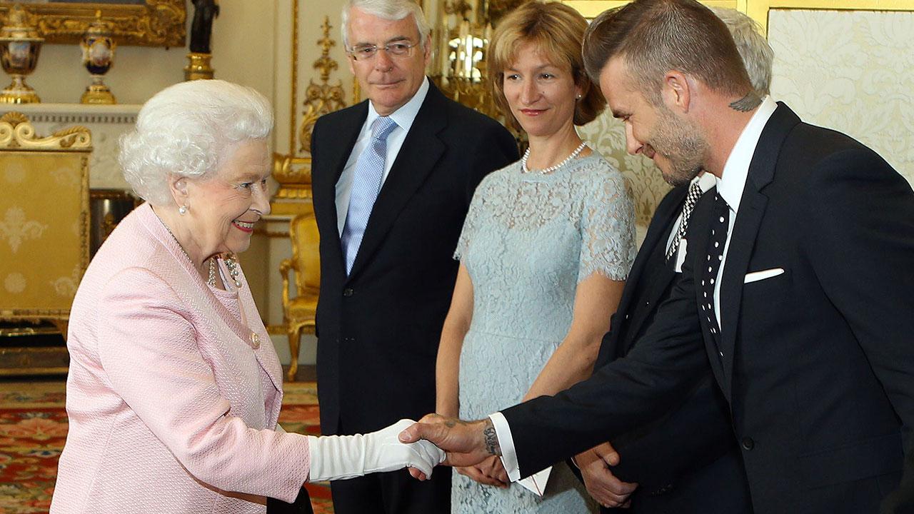 David Beckham incontra la Regina