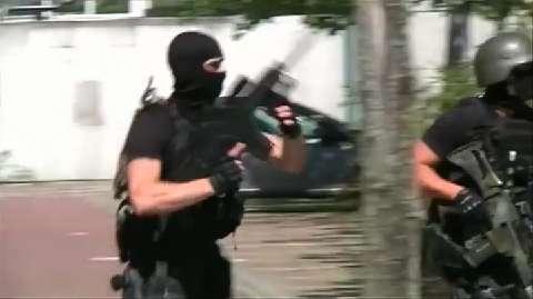 Il video del blitz che ha portato all'uccisione dell'attentatore in Germania