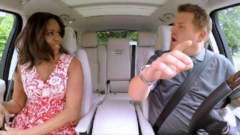 "Michelle Obama ""vittima"" del ""Carpool Karaoke"""