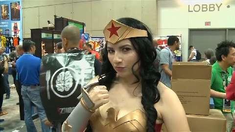Wonder Woman in mostra