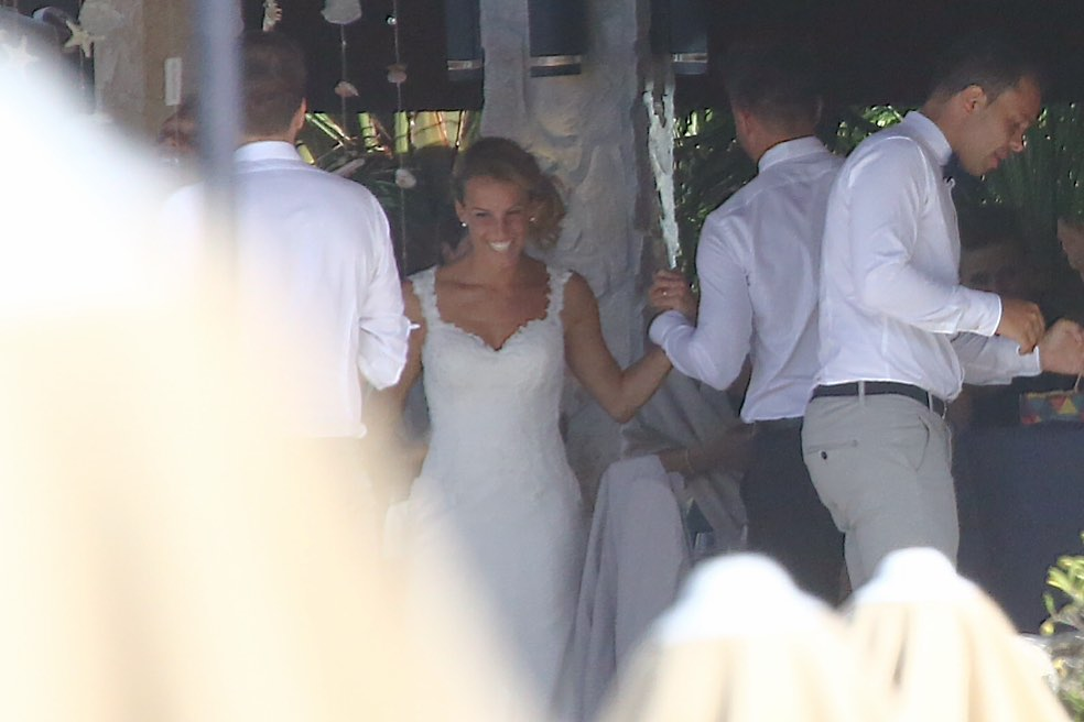 Matrimonio tra Tania Cagnotto e Stefano Parolin all'Isola d'Elba