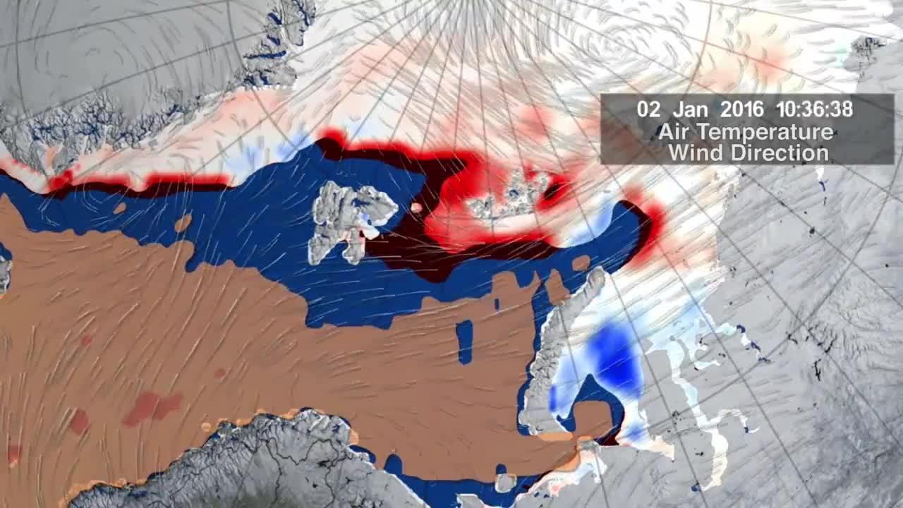 Il ciclone caldo che ha messo a rischio i ghiacci artici