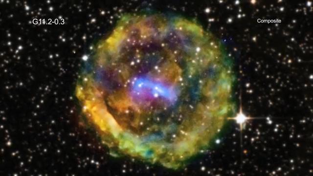 Lo strano oggetto spaziale scambiato per una (ex) supernova