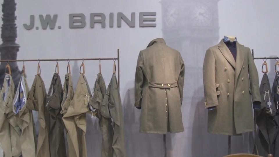 La video intervista al titolare di J. W. Brine
